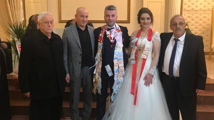Tuğba AYDIN ile Ismail ALTIN'ın düğün merasimine katıl