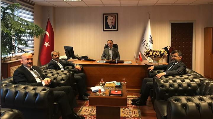 İLBANK Ankara Bölge Müdürü Sayın Erdinç KAPUSUZ'a ziyaretimiz