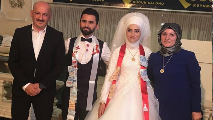 Nilüfer Baran ile Enes İnan çiftinin düğün merasimine katıldık