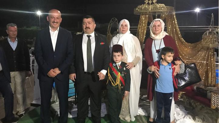 Mehmet Ali'nin sünnet merasimine katıldık