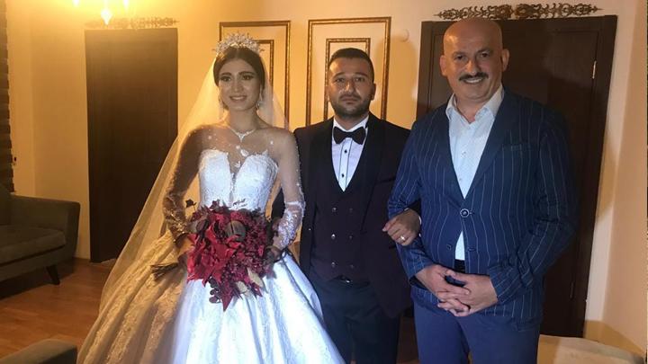 Ömer Çengel İle Özge Zengin'in düğün merasimine katıldık