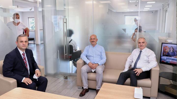 Ziraat Bankası Düzce Şube Müdürlüğü görevine atanan Abdulkerim Kaval?ı ziyaret ettik