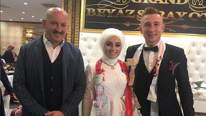 Hanife Şengüloğlu ile Cafer Çilesiz 'in düğün merasimine katıldık