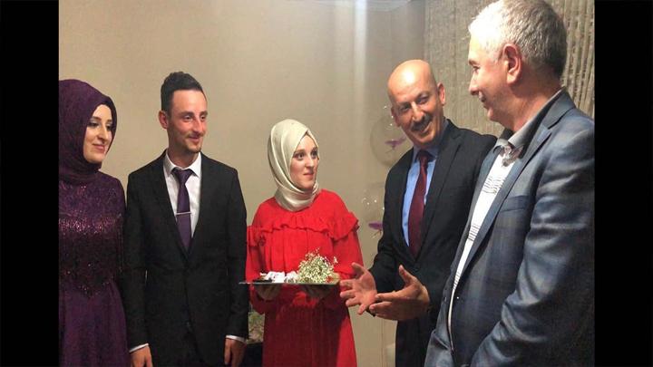 Beyza SERT ile Ali ERCAN'ın nişan merasimine katıldık