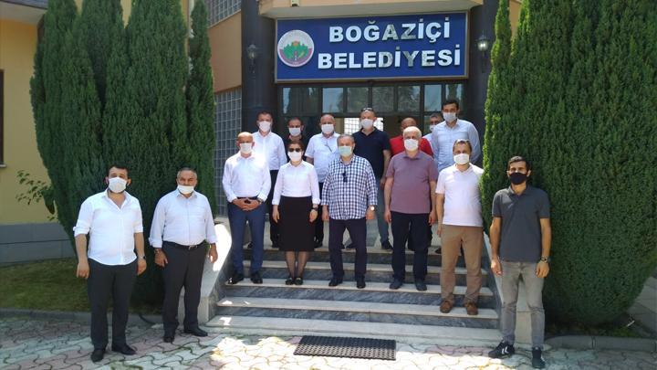 Düzce Milletvekili, İl Genel Meclisi Başkanı ve AK Parti Düzce İl Başkanı'nın Belediyemizi Ziyaretleri