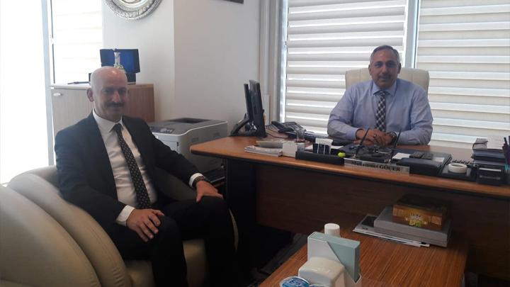 İLBANK Bankacılık Hizmetleri Dairesi Başkanı Sayın Muhammet Göçer'e ziyaretimiz