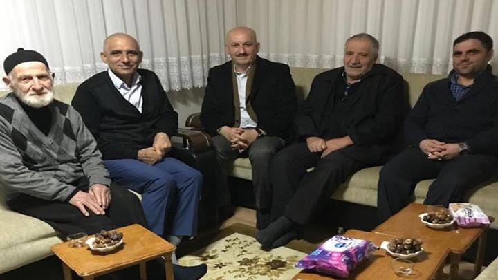 Kutsal topraklardan dönüş yapan Osman Sarıgüzel'e ziyaretimiz