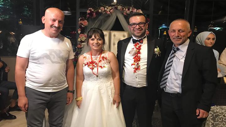Hülya Alemdar ile Uğur Sülaymanoğlu'nun düğün merasimine katıldık
