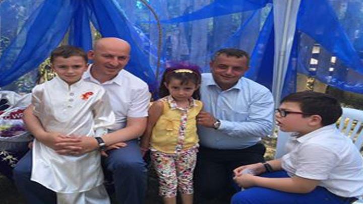 Semiha ve Erol YAVUZ'un oğlu Fuat Mirza'nın sünnet merasimi