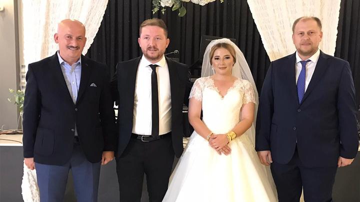 İlayda Demirel ile Özkan Gözütok'un düğün merasimine katıldık