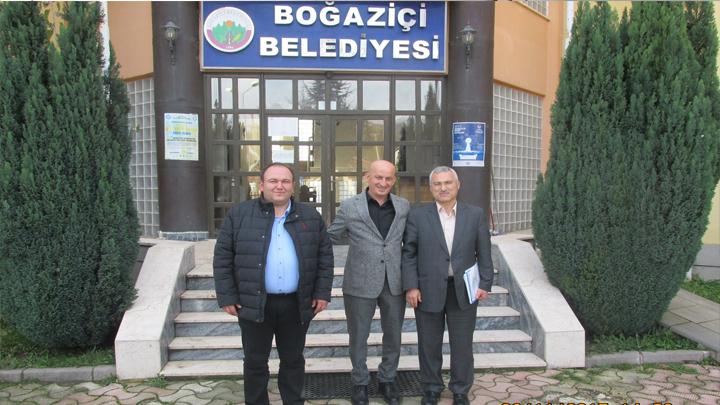 Karayolları 4.Bölge Müdür Yardımcısı Sayın Mustafa BOZÖYÜK'ün ziyareti
