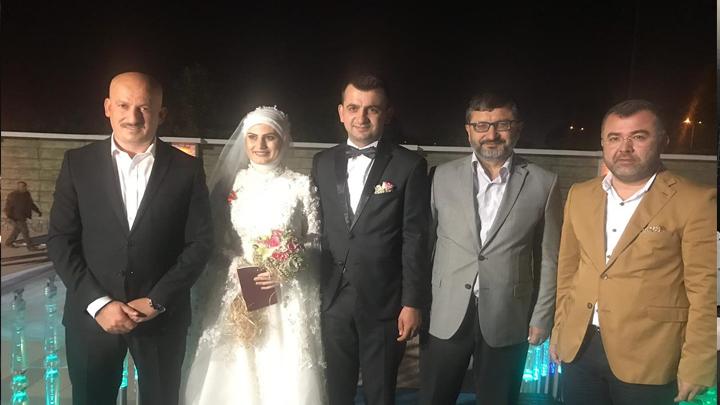 Yeliz Cengiz ile Enes Keskin çiftinin düğün merasimine katıldık