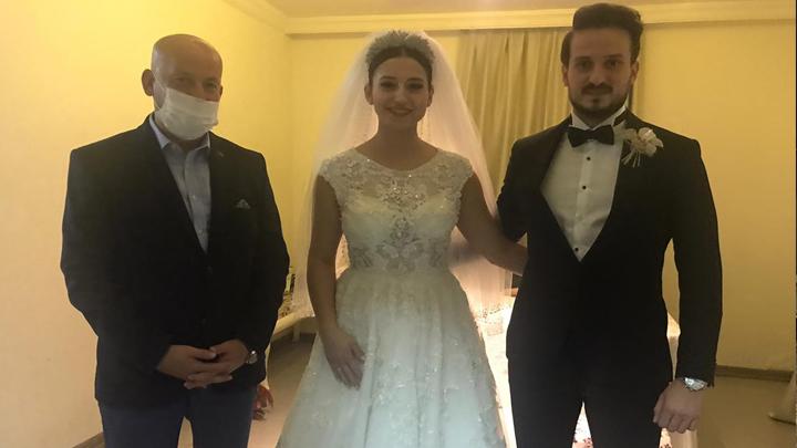 Gökçe Demiral ile Yağız Duman'ın düğün merasimine katıldık