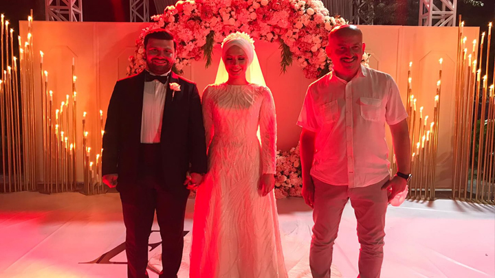 Esra Koloğlu ile Yekta Akdeniz'in düğün merasimine katıldık
