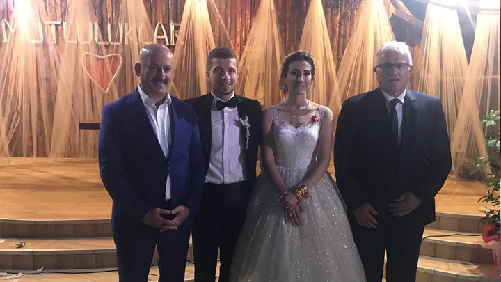 İrem Yılmaz İle İlhan Aydın'ın düğün merasimine katıldık.