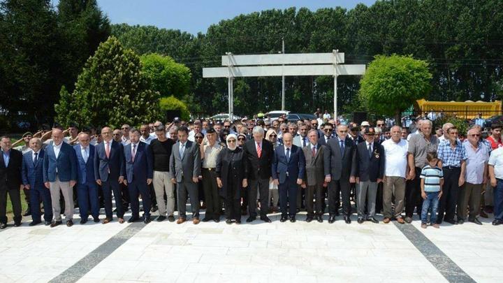 15 Temmuz Haftası Şehitlerimizi Anma Töreniyle Başladı