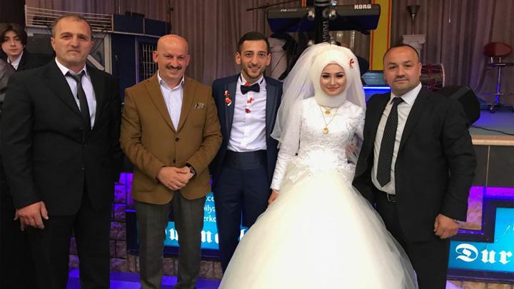 Gizem ATEŞ ile Duhan SÖNMEZOĞLU'nun düğün merasimine katıldık