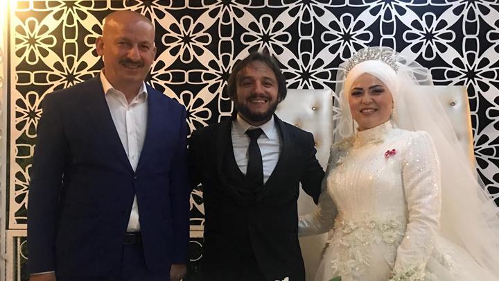 Gonca Küçük ile Cihat Kurnaz'ın düğün merasimine katıldık
