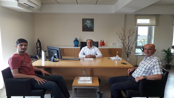 Düzce Türk Telekom İl Müdürü Sayın Muzaffer OKTAY'a ziyaretimiz