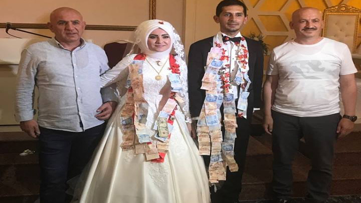 Kadriye CAN ile Hayrullah SAĞLAM çiftinin düğün merasimine katıldık