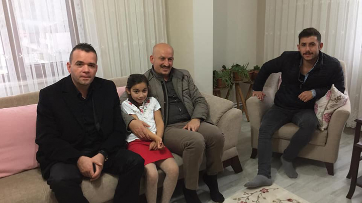 Elif Eda ŞİMŞEK'i evinde ziyaret ettik