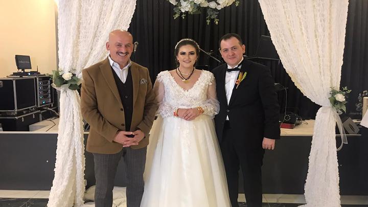 Orhan Çelebi ile Neslihan Güler'in düğün merasimine katıldık