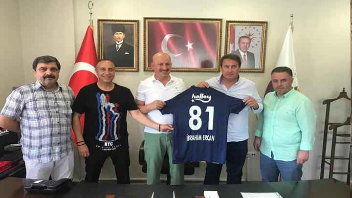 Düzce Fenerbahçeliler Derneği Başkanı Selahattin Kudu'nun ziyareti