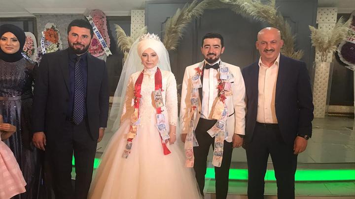 İrem Meydan ile Ali Biriktir'in düğün merasimine katıldık