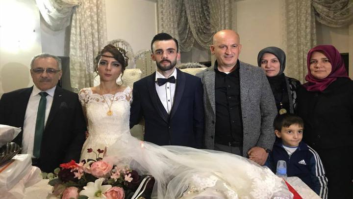 Samet ÇABUK ile Emel BEKTAŞ'ın düğün merasimine katıldık