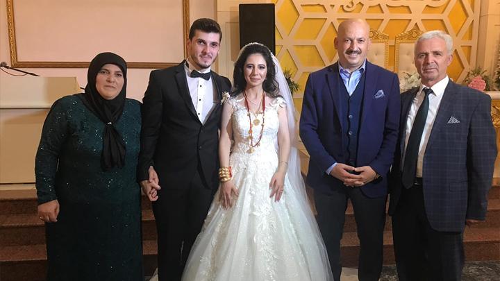 Tuğba Yılmaz ile Okan Sert 'in düğün merasimine katıldık