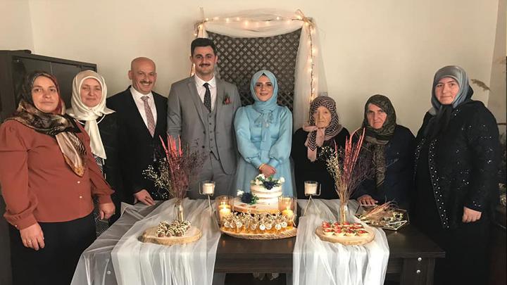 Turhan Ercan'ın oğlu Ramazan'ın nişan merasimine katıldık