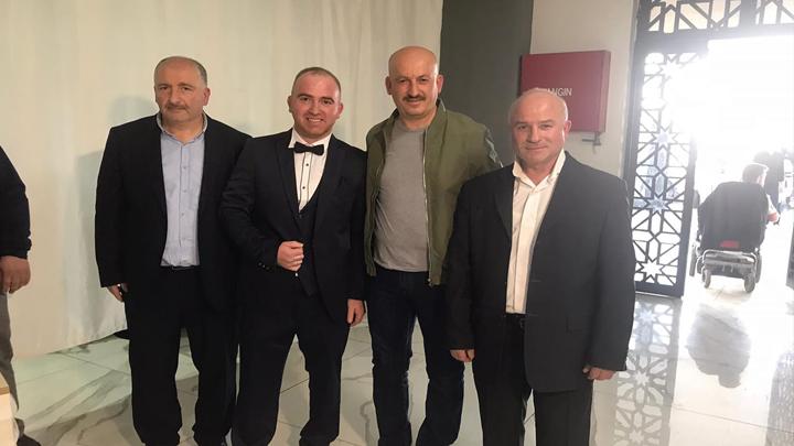Recep Şahin ile Öznur Sarıgüzel'in düğün merasimine katıldık