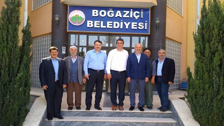 SGK Başmüfettişi Musa BULUT, İŞKUR İl Müdürü Ferat ACAR ve SGK İl Müdürü Necmi KÖROĞLU'nun ziyaretleri