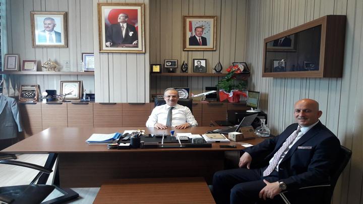 Başakşehir Belediyesi Meclis Başkanına çalışma ziyaretimiz