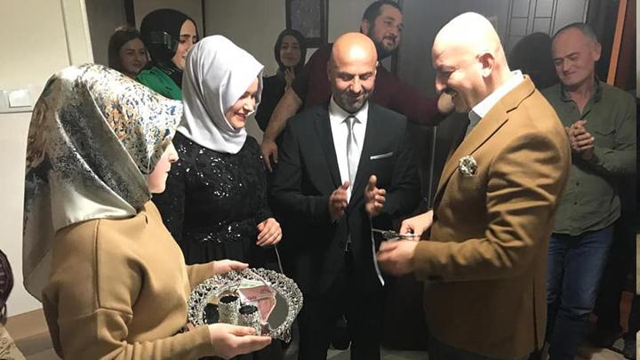 Nuri Ercan ile Sibel Sert'in nişan merasimine katıldık