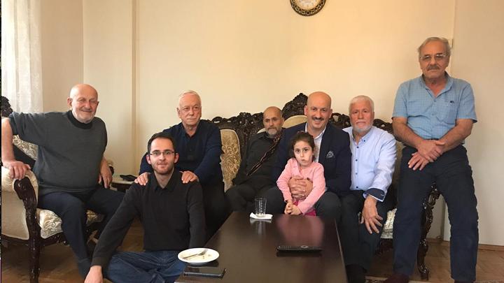 İrfan Sarıgüzel'e, Sakarya'da geçmiş olsun ziyaretinde bulunduk