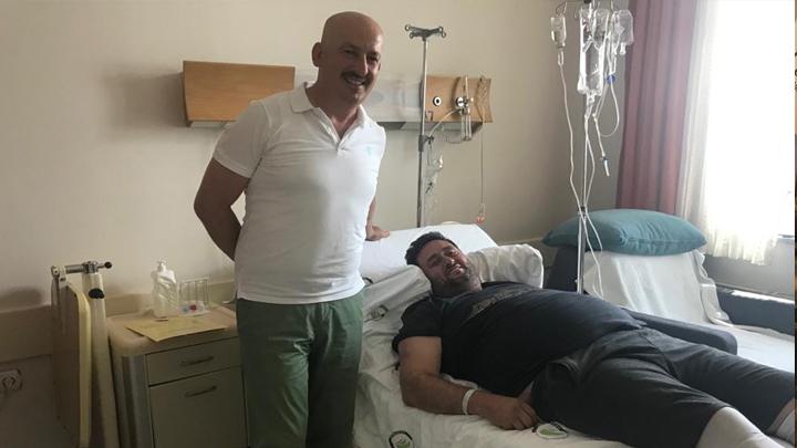Akçakoca Belediye Başkanı Mehmet Okan Yanmaz'a geçmiş olsun ziyaretimiz