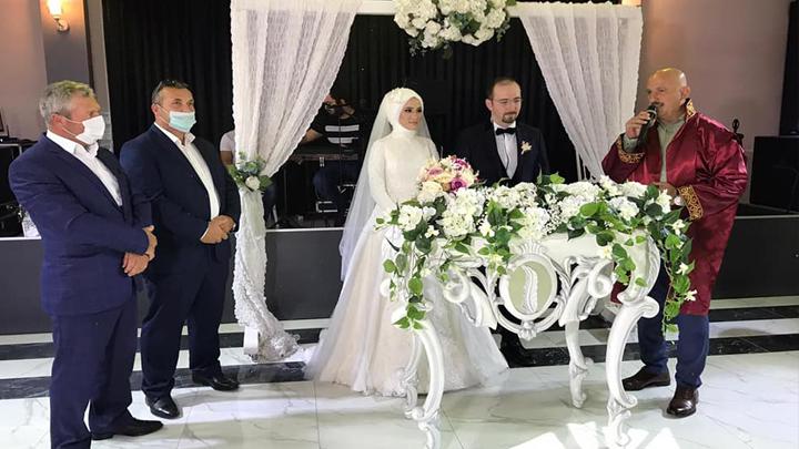 Sümeyye Tetik ile Bilal Albayrak'ın nikah akdini gerçekleştirdik.