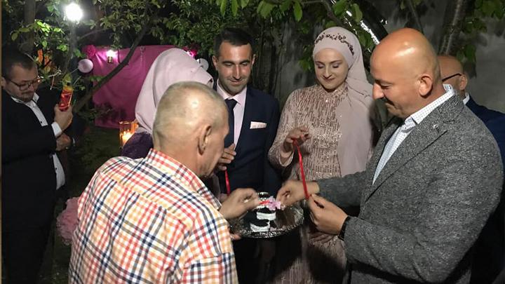 Meltem SOYER ile Kerim AKPINAR'ın nişan merasimine katıldık