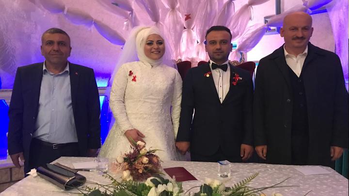Nihat Öztürk ile Esra Özçelik'in düğün merasimine katıldık.