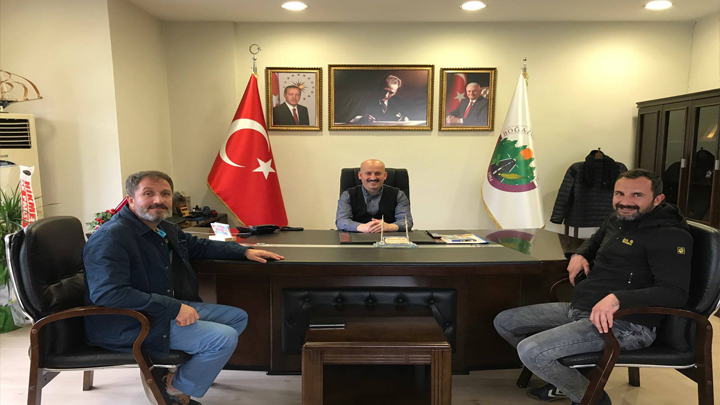 İHA Düzce Muhabiri Ali YILDIZ ve DHA Düzce Muhabiri Tezcan SOLMAZ'ın ziyareti