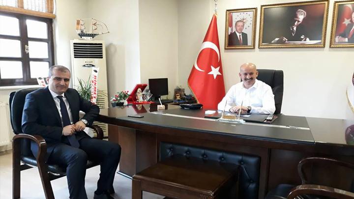 Akçakoca Belediye Başkanı Sayın Cüneyt Yemenici'nin Ziyareti