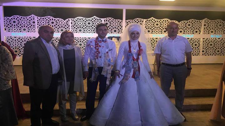 Sevda DEMİRCİ ile Erol ÇELEBİ çiftinin düğün merasimine katıldık