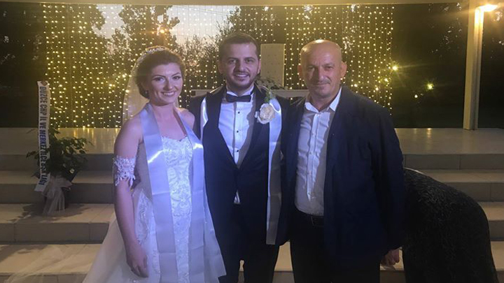 Aleyna ÖZTÜRK ile Naim ÇATANA çiftinin düğün merasimi
