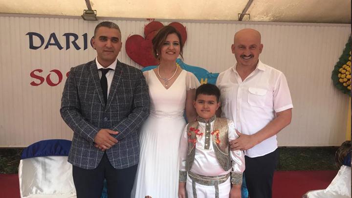 Veteriner Halil Avşar'ın oğlu Oğuzhan'ın sünnet merasimine katıldık.