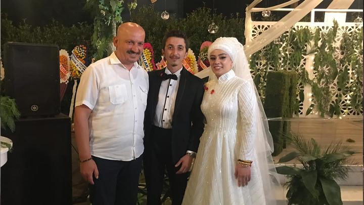 Nilay Danışmaz ile Harun Yılmaztürk'ün düğün merasimine katıldık.