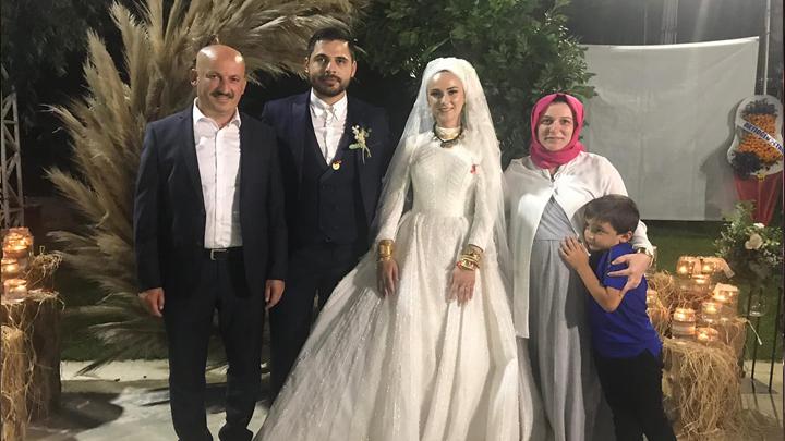 Nurcan Nursel ile Muhammed Tolun'un düğün merasimine katıldık.