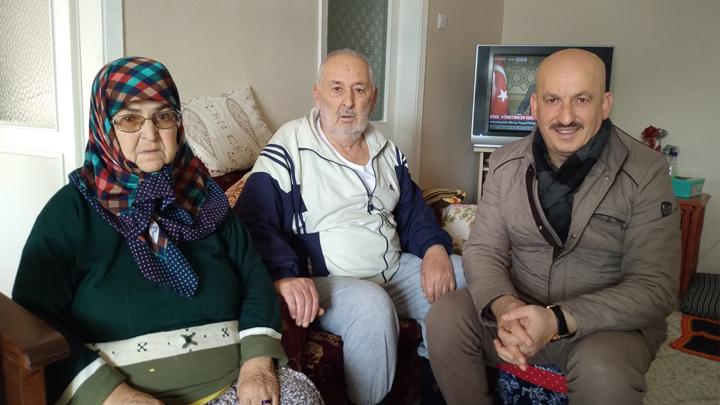 Fuat Çavuş'a geçmiş olsun ziyaretinde bulunduk