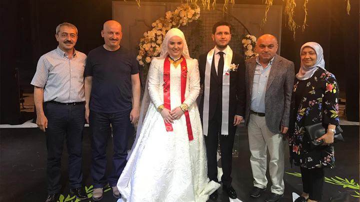 Tuğba Dilber ile Fatih Demir'in düğün merasimine katıldık