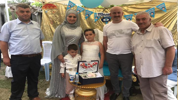 Şenay ve Hasan Kara'nın çocukları Kerem'in sünnet merasimine katıldık